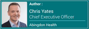 Chris Yates in the CEO of Abingdon Health