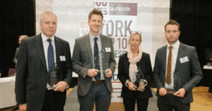 Scott Page receives Abingdon Health's York Top 100 Businesses 2018 Award