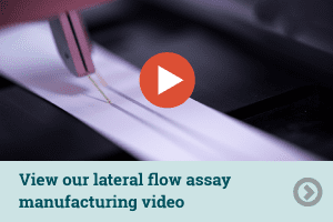 link image to lateral flow assay manufacturing video
