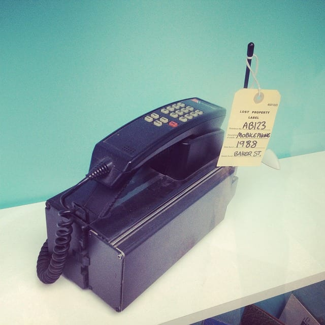 old mobile telephone