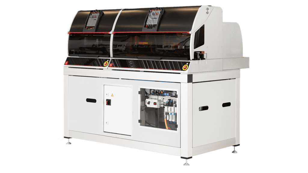 Rapid test manufacturing equipment used at Abingdon Health